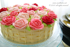 Rose Cake | by Mad Baker