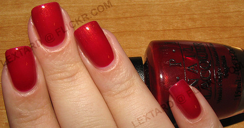 OPI - Cheery Cherry | by lextard