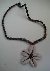 shell flower necklace for $5 | by best sell 4 you