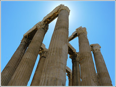 Temple of the Olympian Zeus | by -Valérie-