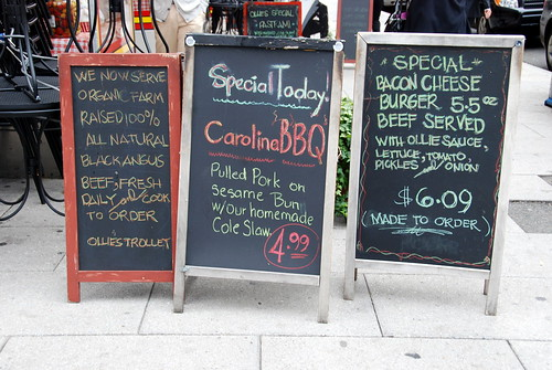 Daily Special Signs | by Kevin H.