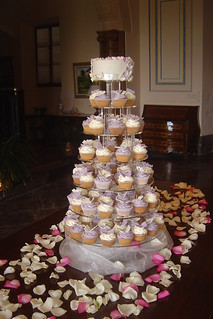 Wedding Butterflies Cake Pink Realtree Camo