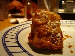 1/4 of a Monte Cristo Cholesterol Sandwich