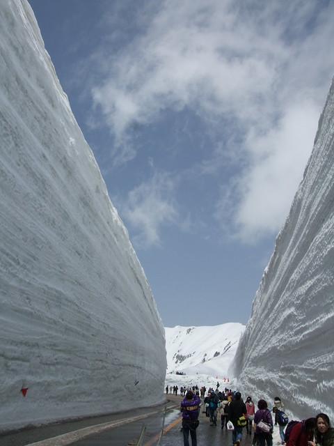Snow Wall 2011