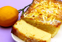 Cheese and Yogurt Cake with Lemon Zest | by AZ Cookbook