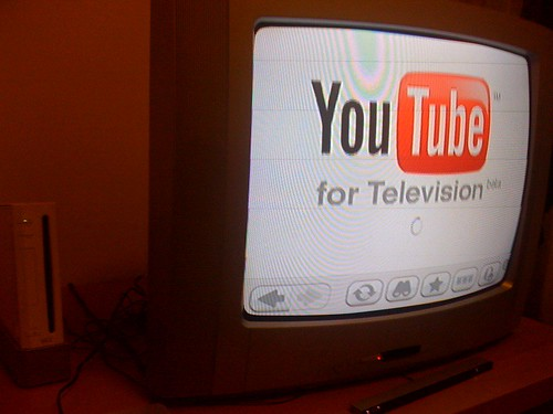 YouTube for television (beta) | by francescominciotti