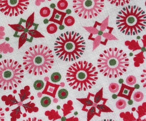 Vintage 50's Fabric ~ Snowflakes | by Niesz Vintage Fabric