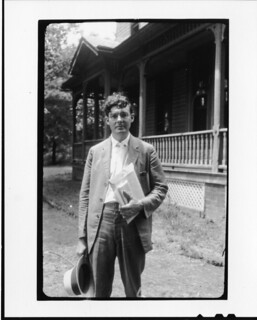 Tennessee v. John T. Scopes Trial: Howard Gale Byrd, outside the Defense Mansion. | by Smithsonian Institution