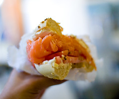 Bagel with lox | by ToastyKen