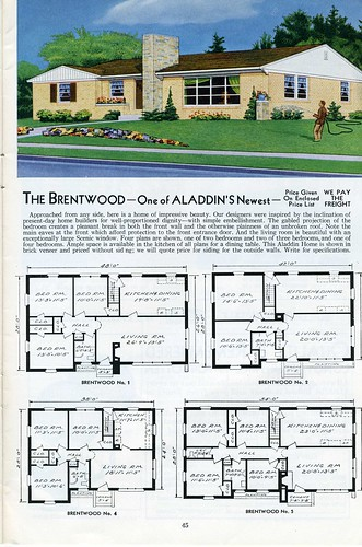The Brentwood - Aladdin 1953 | by Daily Bungalow