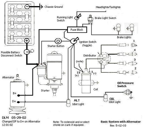 sand rail ignition wiring, is this correct  sand rail wiring w o turn signals or