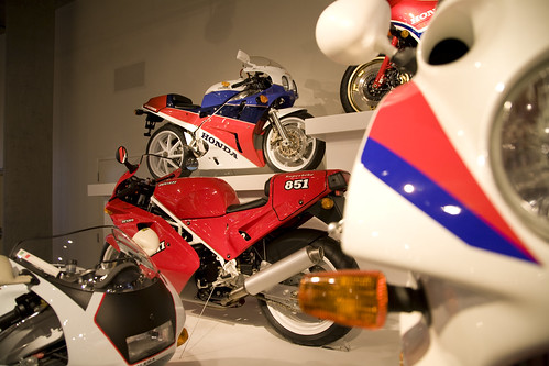 Barber Honda : Honda & Ducati at Barber by hz536n/George Thomas