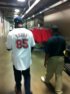 Baron Davis at Tribe Game | by Cavs History