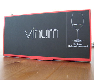 Riedel Vinum Bordeaux glass ($24) | by 2 Guys Uncorked