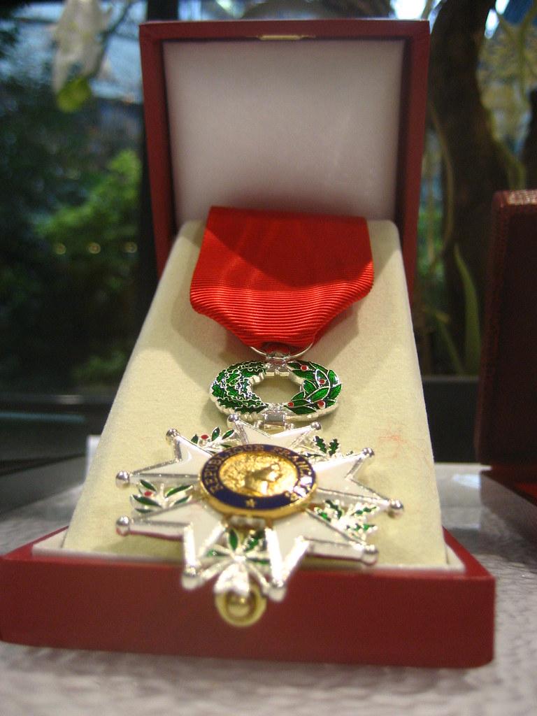 Médaille de chevalier de la Légion d'honneur