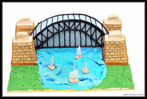 Cake Images With Name Praveen : Harbour Bridge Cake Decoration, by Rosemary Jose My wife ...