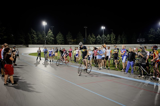 Trackstand competition.
