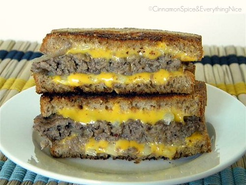 Katie Lee's Award Winning Logan County 'Grilled Cheese' Burger | by CinnamonKitchn