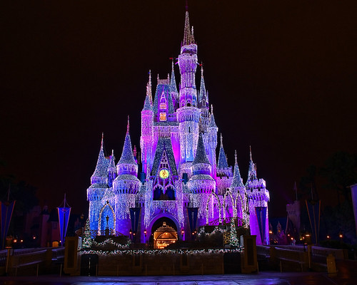 Disney - Cinderella Castle Dream Lights (Explored) | by Express Monorail