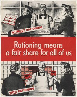 Rationing means a fair share for all of us | by Boston Public Library