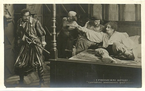 Mario Parpagnoli as Don Rodrigo in I promessi sposi (1922)
