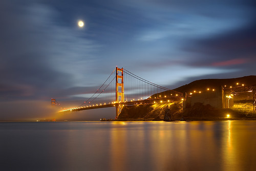 Golden Gate Bridge - Into The Mist | by PatrickSmithPhotography