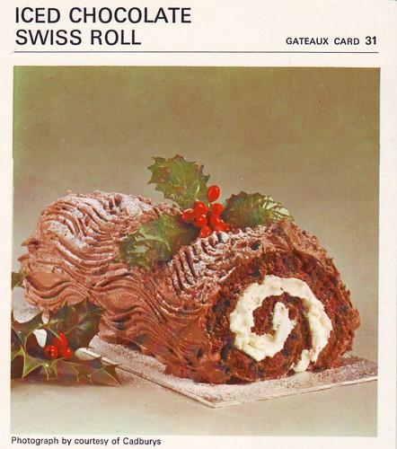 Iced Chocolate Swiss Roll | Yo, bro! Sho nuff iced. Buttercr ...