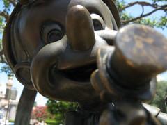 Pinocchio Meets Jiminy Cricket