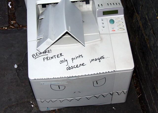 May I introduce: Mr Printer
