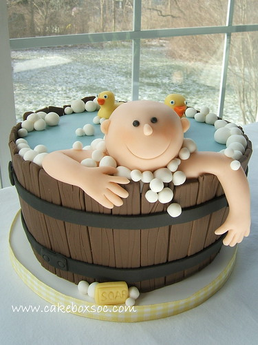 Washtub Baby | by Cakebox Special Occasion Cakes