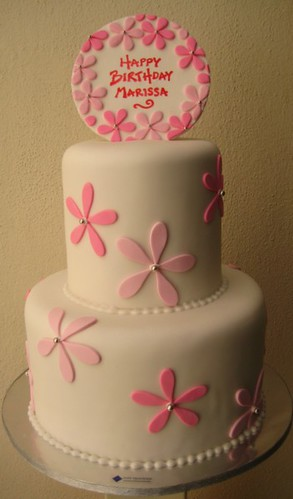 pink flowers | by Artisan Cakes by e.t.