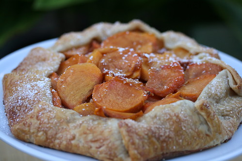 Crisp Fuyu Persimmon Galette | by Food Librarian