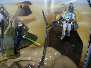 Battle at the Sarlacc Pit Boba Fett vs. Luke | by adam16bit