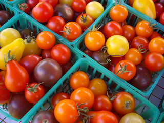Assorted Chery Tomatoes | by swampkitty