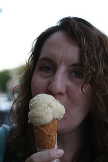 Diane at Ici Ice Cream (Elmwood/Berkeley) | by Food Librarian