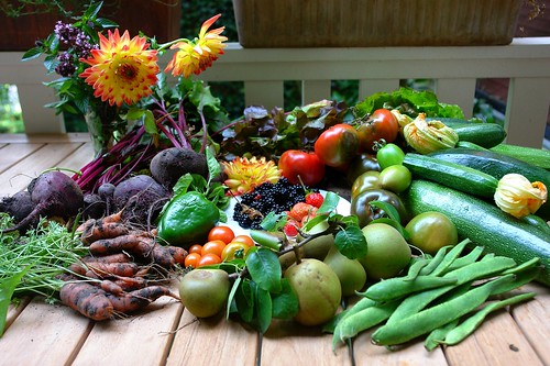 Garden produce: now it all has to be cooked and eaten... | by CharlesFred