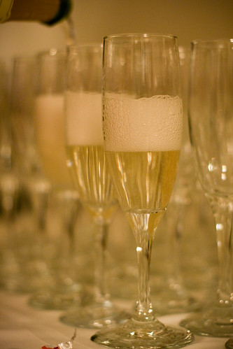 champagne glasses | by nerdcoregirl