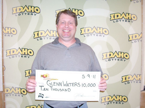 Glenn Waters from Meridian, ID - $10,000 Hot Lotto Sizzler ...
