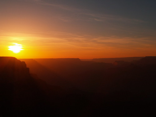 Sunset at Grand Canyon | by luvjnx