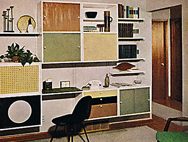 BH&G 1961 - Built-in Office | by vintagegoodness