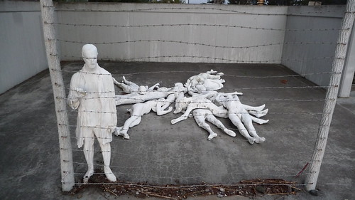 """THE HOLOCAUST"" by George Segal 