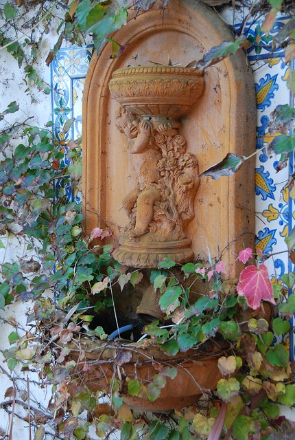 The Cherub in our Garden