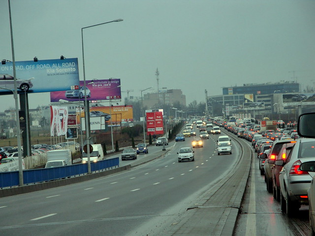 Bucharest traffic