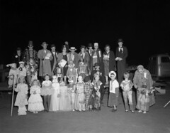 Hotchkiss Field, Halloween | by The Library of Virginia