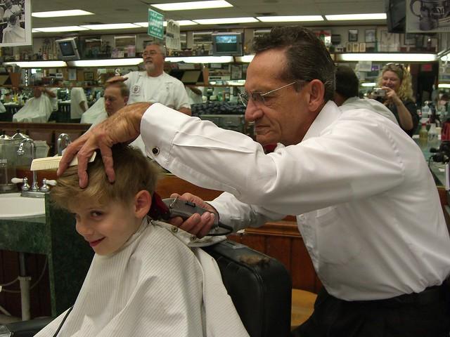 Dualing Barbers