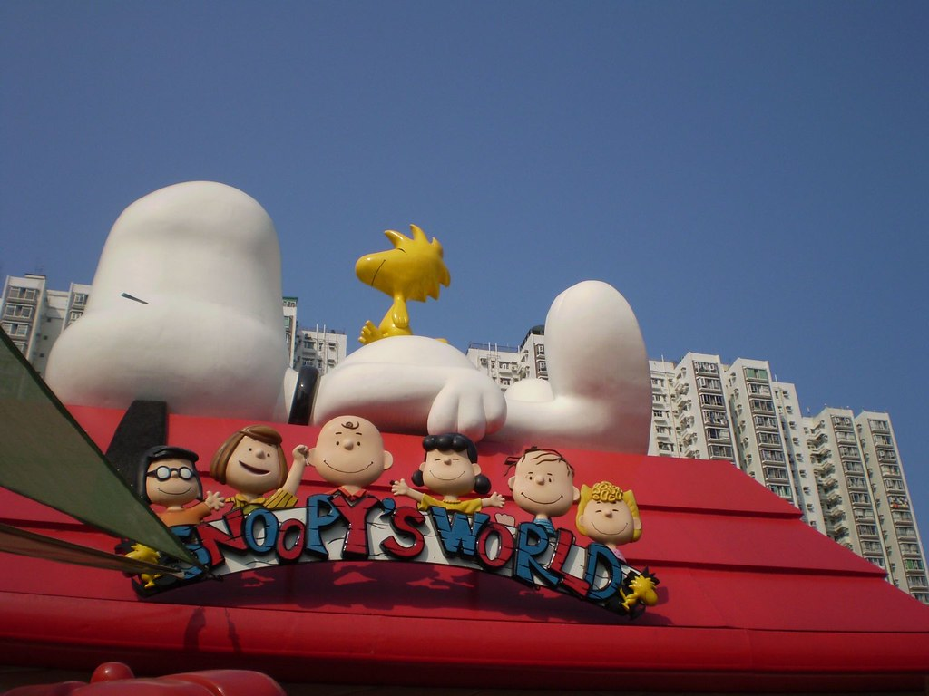 Snoopy's World among best things to do in hong kong with kids