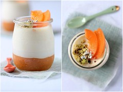 Lavender and Apricot Panna Cotta | by tartelette
