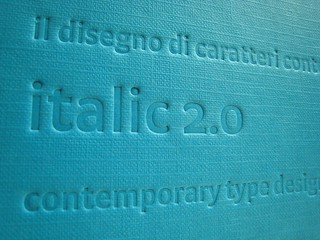 Italic 2.0 / book | by oinoi