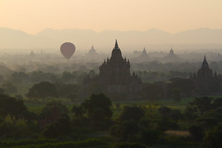 0016 Ballooning above the ruins--Bagan , Myanmar | by ngchongkin