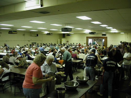 Columbus volunteer fire department fish fry vfw hall col for Vfw fish fry